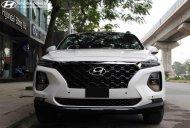 Bán Hyundai Santa Fe 2.4 máy xăng đặc biệt, sản xuất 2019, màu trắng, KM 10tr phụ kiện giá 1 tỷ 135 tr tại Hà Nội