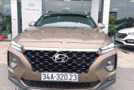 Cần bán xe Hyundai Santa Fe năm sản xuất 2019, màu nâu giá 1 tỷ 239 tr tại Hà Nội