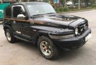 Bán xe Ssangyong Korando TX5 AT 4WD năm 2004, màu đen, xe nhập giá 195 triệu tại Hà Nội