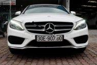 Cần bán gấp Mercedes C300 AMG 2016, màu trắng giá 1 tỷ 520 tr tại Hà Nội