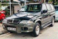Bán Ssangyong Musso 2.3 AT 2005, màu đen, nhập khẩu, số tự động giá 105 triệu tại Hà Nội