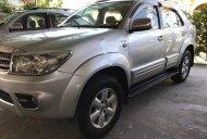 Cần bán Toyota Fortuner 2.5G đời 2009, màu bạc, giá 585tr giá 585 triệu tại Tiền Giang