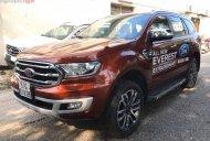 Bán Ford Everest Titanium 2.0L 4x4 AT sản xuất năm 2018, màu đỏ, nhập khẩu giá 1 tỷ 278 tr tại Lâm Đồng