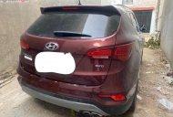 Bán Hyundai Santa Fe đời 2018, màu đỏ xe còn mới nguyên giá 1 tỷ 35 tr tại Hà Nội