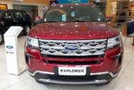 Cần bán nhanh chiếc xe Ford Explorer đời 2018, màu đỏ, nhập khẩu giá 2 tỷ 68 tr tại Hà Nội