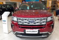 Bán Ford Explorer Limited đời 2018, màu đỏ, nhập khẩu nguyên chiếc giá 2 tỷ 68 tr tại Hà Nội