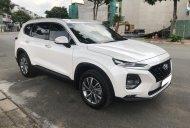 Giá bán thấp nhất thị trường, Hyundai Santa Fe 2.4 cao cấp đời 2019, màu trắng giá 1 tỷ 155 tr tại Tp.HCM
