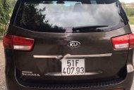 Bán Kia Sedona năm sản xuất 2016, màu nâu ít sử dụng xe còn mới lắm giá 870 triệu tại Tp.HCM