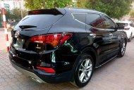 Cần bán Hyundai Santa Fe 2.4L 4WD, năm 2017, màu đen chính chủ, giá 955tr giá 955 triệu tại Hà Nội