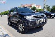 Bán Toyota Fortuner 2008, màu đen, xe nhập chính hãng giá 555 triệu tại Ninh Bình