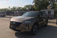Bán xe Hyundai Santa Fe đời 2019, màu nâu số tự động giá 1 tỷ 165 tr tại Hà Nội