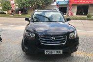 Cần bán Hyundai Santa Fe năm 2010, màu đen, nhập khẩu chính hãng giá 630 triệu tại Quảng Bình