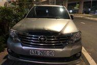 Cần bán lại xe Toyota Fortuner sản xuất 2012, màu bạc xe còn mới lắm giá 585 triệu tại Đà Nẵng