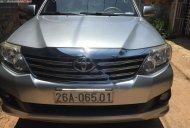 Bán xe Toyota Fortuner 2.5G đời 2012, màu bạc số tự động giá cạnh tranh giá 610 triệu tại Sơn La