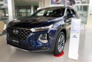 Ưu đãi cực lớn - Quà tặng vô vàn, Hyundai SantaFe phiên bản máy dầu, đời 2019, màu xanh dương, giá rẻ giá 1 tỷ tại Long An
