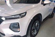 Bán Hyundai Santa Fe Premium 2.2L HTRAC 2019, màu trắng giá 1 tỷ 350 tr tại Hà Nội