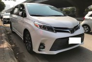 Cần bán gấp Toyota Sienna Limited 2018, màu trắng, nhập khẩu nguyên chiếc giá 3 tỷ 700 tr tại Hà Nội