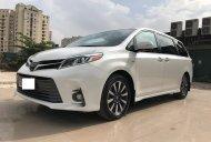 Bán Toyota Sienna Limited Trắng nội thất Nâu da bò xe sản xuất 2018, đăng ký tháng 12/2018, tên cty biển Hà Nội siêu mới giá 3 tỷ 700 tr tại Hà Nội