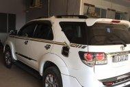 Bán Toyota Fortuner TRD Sportivo 4x4 AT 2015, màu trắng, giá 680tr giá 680 triệu tại Ninh Thuận