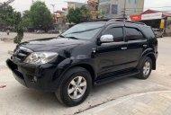 Bán Toyota Fortuner sản xuất năm 2007, màu đen, nhập khẩu số sàn giá 438 triệu tại Hà Tĩnh