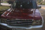 Xe Ford Everest đời 2005, màu đỏ giá cạnh tranh giá 248 triệu tại Đắk Lắk