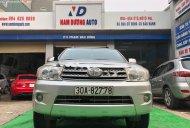 Cần bán xe Toyota Fortuner V sản xuất 2009, màu bạc giá 425 triệu tại Hà Nội
