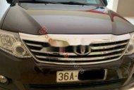 Bán ô tô Toyota Fortuner 2.7V 4x2 AT đời 2012, màu đen chính chủ giá 600 triệu tại Thanh Hóa