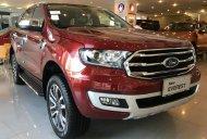 Bán nhanh đón tết chiếc xe Ford Everest 2.0 Titanium, màu đỏ, nhập khẩu nguyên chiếc, giao tận nhà giá 1 tỷ 325 tr tại Hà Nội