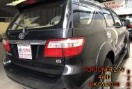 Cần bán gấp Toyota Fortuner 2.7V 4WD năm 2010, màu đen như mới, giá chỉ 490 triệu giá 490 triệu tại Hà Nội