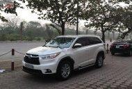 Bán ô tô Toyota Highlander LE 2.7 đời 2014, màu trắng, nhập khẩu giá 1 tỷ 580 tr tại Hà Nội