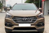 Bán xe cũ Hyundai Santa Fe 2.2L 4WD đời 2018, màu nâu giá 1 tỷ 115 tr tại Hà Nội