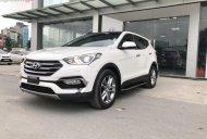 Bán Hyundai Santa Fe 2.4L 4WD đời 2017, màu trắng như mới, 959tr giá 959 triệu tại Hà Nội
