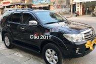 Cần bán lại xe Toyota Fortuner 2.5G năm sản xuất 2011, màu đen, 595 triệu giá 595 triệu tại Hải Phòng