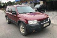 Cần bán Ford Escape 3.0 V6 năm 2003, màu đỏ, số tự động, giá 134tr giá 134 triệu tại Hải Dương