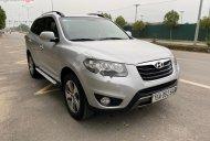 Cần bán lại xe Hyundai Santa Fe CRDI năm sản xuất 2011, màu bạc, xe nhập  giá 655 triệu tại Hà Nội