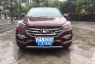 Cần bán xe Hyundai Santa Fe năm 2018, màu đỏ giá 1 tỷ 80 tr tại Hà Nội