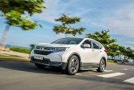 Bán Honda CR V L sản xuất năm 2019, màu trắng, nhập khẩu nguyên chiếc giá 1 tỷ 93 tr tại Hà Nội