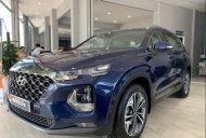 (Xe sẵn - Giao ngay) Hyundai Santa Fe 2.4L đời 2020, màu xanh lam, bán giá tốt giá 980 triệu tại Long An