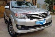 Cần bán xe Toyota Fortuner đời 2013, màu bạc giá 495 triệu tại Nam Định