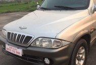 Cần bán gấp Ssangyong Musso đời 2002, màu bạc, nhập khẩu nguyên chiếc số sàn giá cạnh tranh giá 125 triệu tại Hà Nội