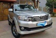 Bán Toyota Fortuner AT đời 2013, màu bạc số tự động, 495 triệu giá 495 triệu tại Nam Định