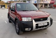 Bán Ford Escape năm sản xuất 2002, màu đỏ giá 139 triệu tại Hải Dương