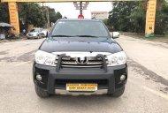 Cần bán gấp Toyota Fortuner 2.7V 4x4AT năm sản xuất 2010, màu đen còn mới giá 485 triệu tại Hà Nội