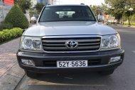 Bán nhanh với giá thấp nhất chiếc Toyota Land Cruiser đời 2005, màu bạc giá 590 triệu tại Tp.HCM