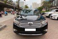 Giao xe nhanh chóng, giá rẻ với chiếc Toyota Highlander SE 2.7L sản xuất 2011, màu đen, xe nhập giá 950 triệu tại Hà Nội