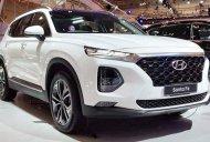 Giảm giá cực khủng, khi mua Hyundai Santa Fe máy dầu đời 2020, màu trắng giá 1 tỷ 160 tr tại Đồng Nai