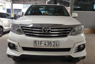 Bán xe Toyota Fortuner Sportivo 2.7AT sản xuất năm 2016, màu trắng giá 756 triệu tại Tp.HCM