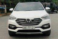Bán Hyundai Santa Fe 2.4AT năm 2016, màu trắng chính chủ, giá tốt giá 875 triệu tại Hà Nội
