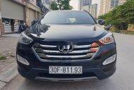 Bán Hyundai Santa Fe 2012, màu đen, nhập khẩu   giá 665 triệu tại Hà Nội