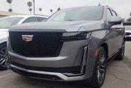 Cadillac Escalade Platinum 2021, màu xám, nhập khẩu nguyên chiếc giá 8 tỷ 350 tr tại Hà Nội